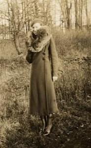 MEC's mother Kate  standing